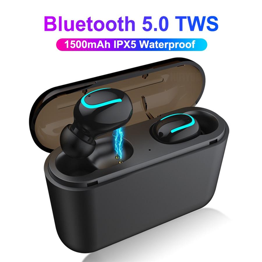 Bluetooth 5.0 Earphones TWS Mini Wireless Blutooth Earphone Hands free Head Phone Sport Earbuds Gaming Headset PK i10 i12 i9s