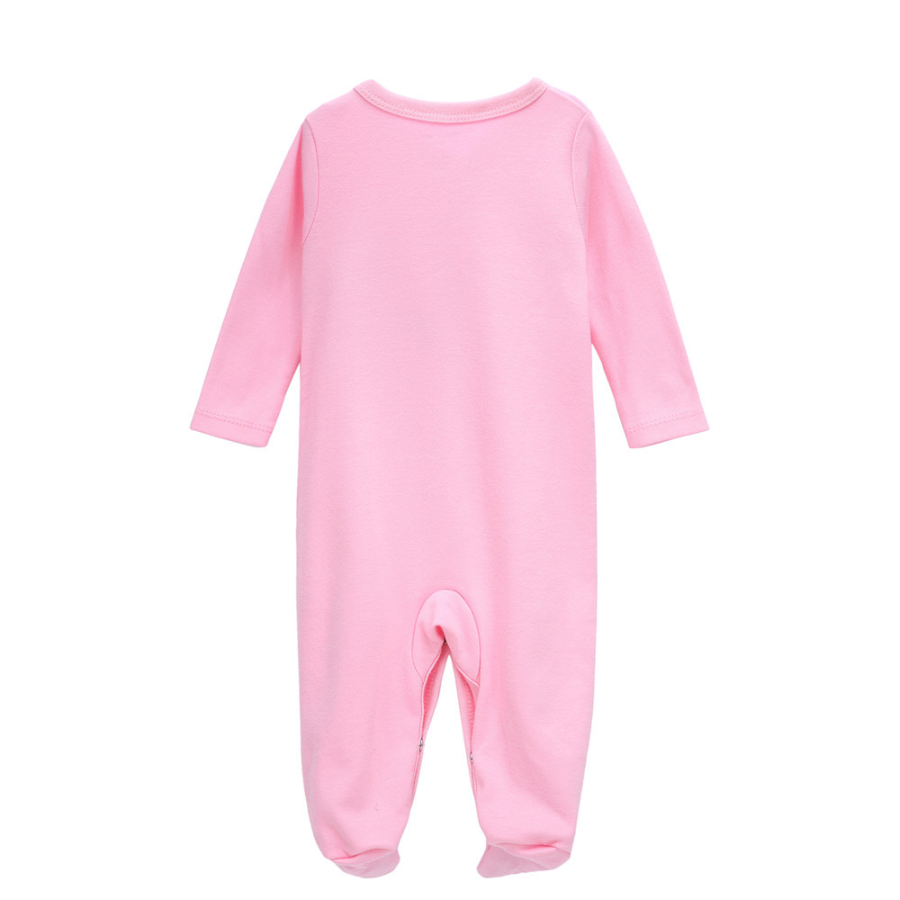 ab9f468f7977 6 Pcs set Fashion Cotton winter baby rompers newborn baby girl clothes Long  Sleeve Jumpsuit roupas infantis menino pink Overalls Tags