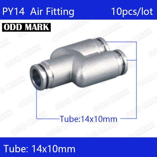 Free shipping 10pcs/lot 14mm PY14,304 Stainless Steel Union Y Connector nimh battery bt 32 charger bc 19b for topcon total station survey
