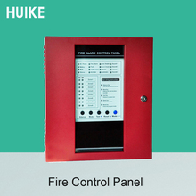 Fire Control Panel 8 Wire Zones device Support Smoke Alarm System Combustible GAS Sensor Door Open Alarm at School or Home