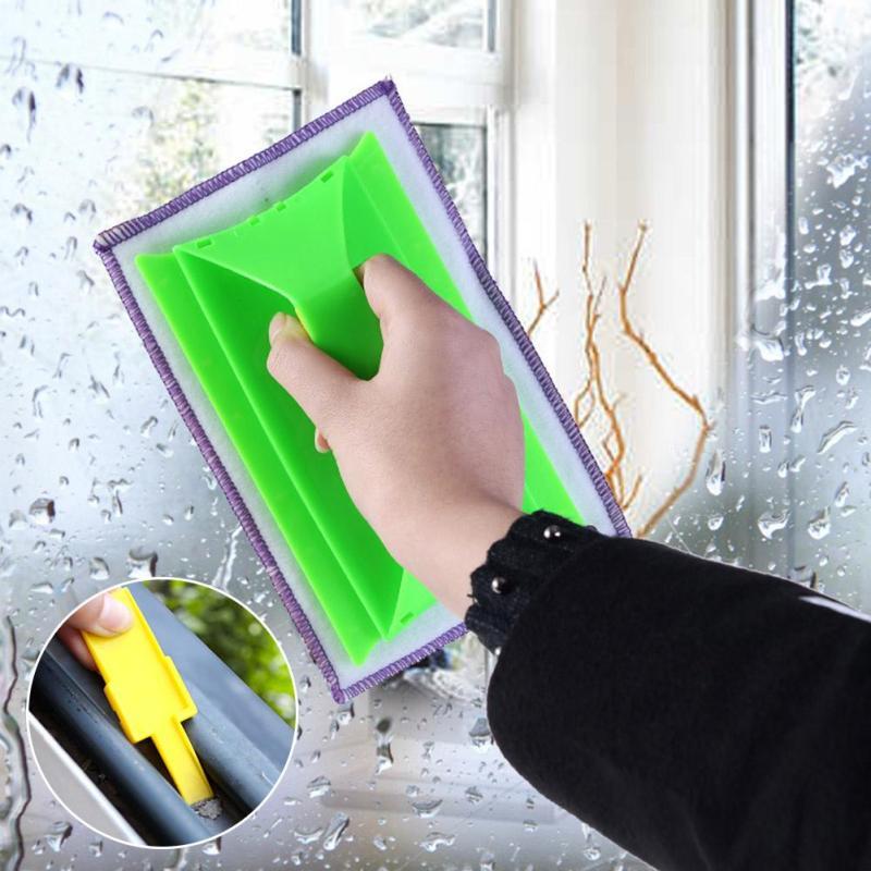 Nuevas Persianas Limpieza Cepillos Nook Glass Window Cleaner Herramienta de Limp