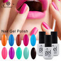 Saviland UV Gel Nail Polish Long Lasting Up To 30 Days Gel Varnish 7ML Soak Off Gel Lacquer Fingernails Manicure Set