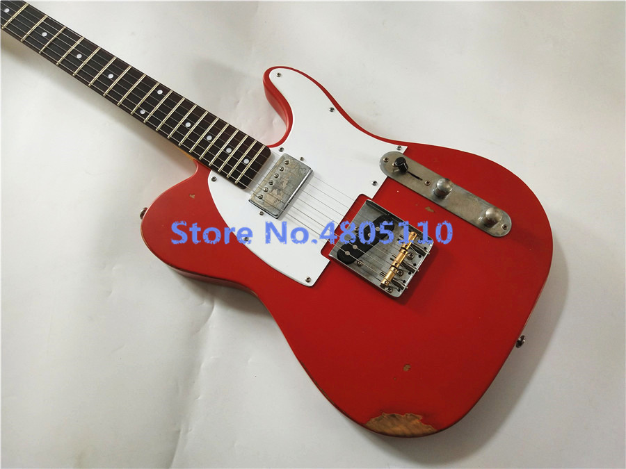 Custom shop,New Style TELE handwork 6 Strings Electric Guitar,telecaster guitarra.Rosewood fingerboard.relics by hands.