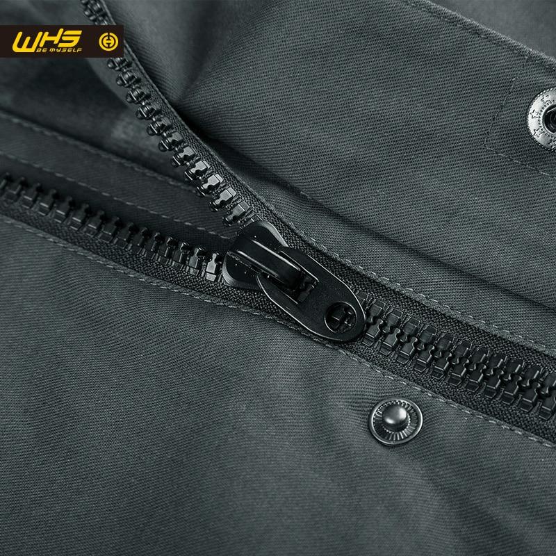 WHS Жаңа Күзгі Ашық ерлер мақта пиджак - Спорттық киім мен керек-жарақтар - фото 6
