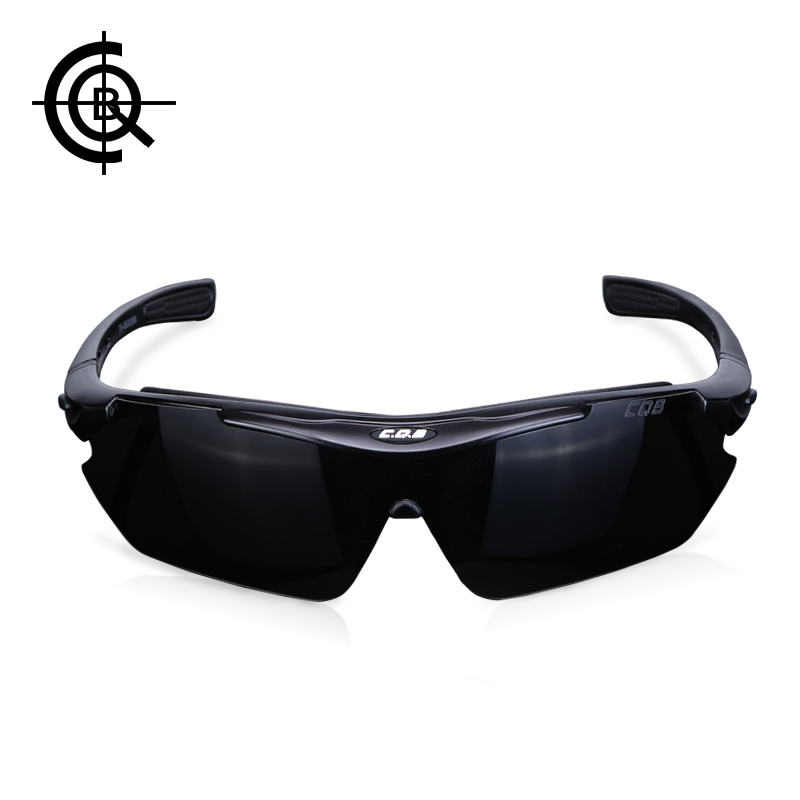 CQB Outdoor Climbing Polarized Sunglasses Tactical Eyewear Men HD Hiking Fishing Cycling Glasses Shooting Glasses YJ0065 queshark men polarized fishing sunglasses camping hiking goggles uv400 protection bike cycling glasses sports fishing eyewear