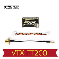 T motor FT200 5.8G 25/50/200/500mW Switchable FPV Racing VTX Support Smart Audio for RC Drone