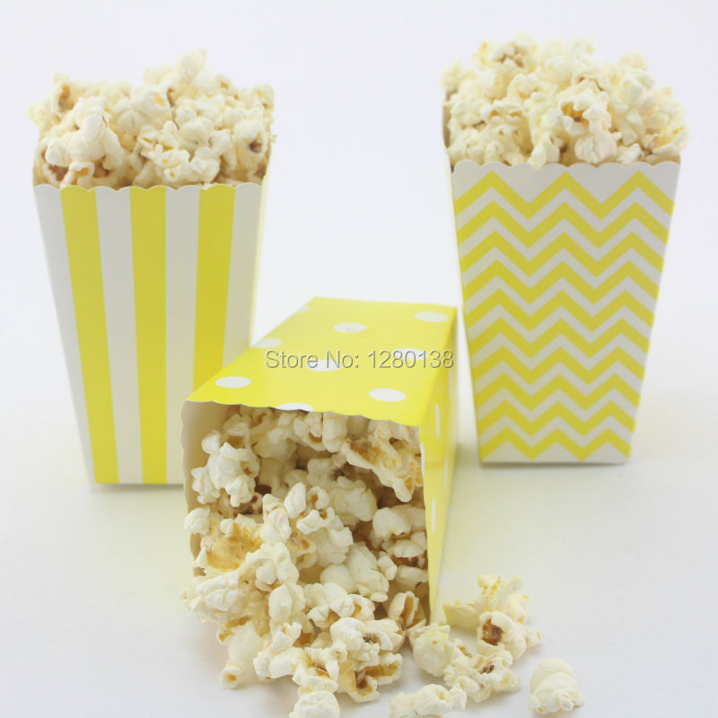 120pcs Chocolate Candy Food Bo Baby Shower Decor Blue Popcorn Bags Birthday Party Wedding In Gift Wring Supplies From Home