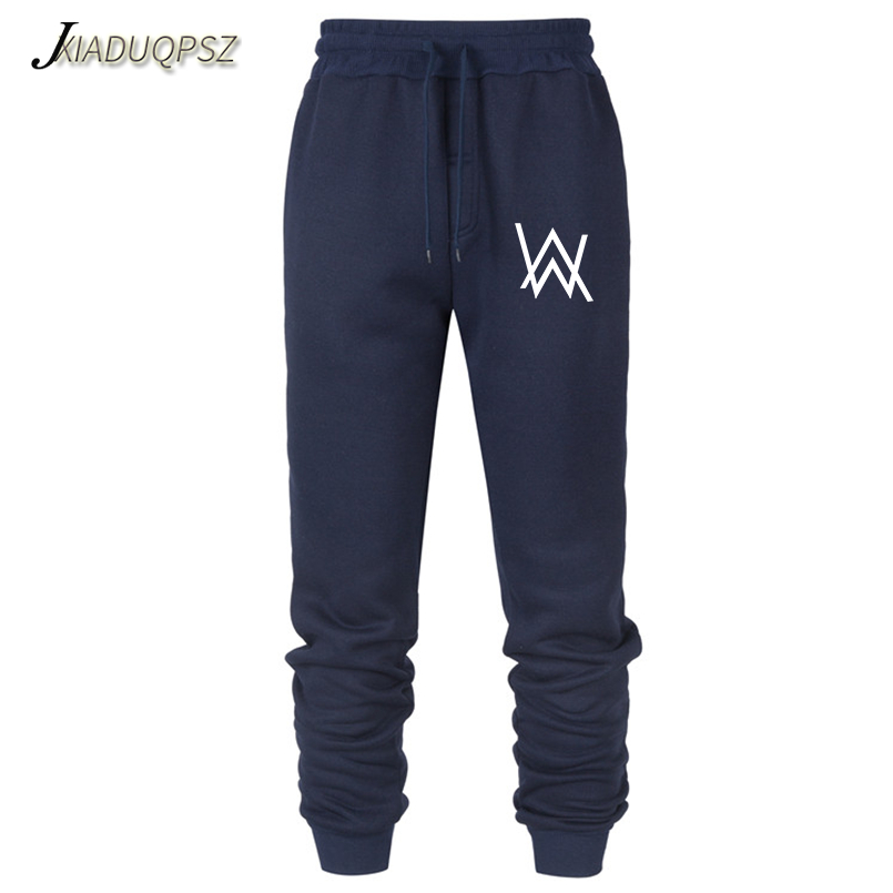2019 Mens Pants Music Dj Comedy Alan Walker Casual Sweatpants Straight Trousers All-matched Joggers Workout Pants Boy Trousers