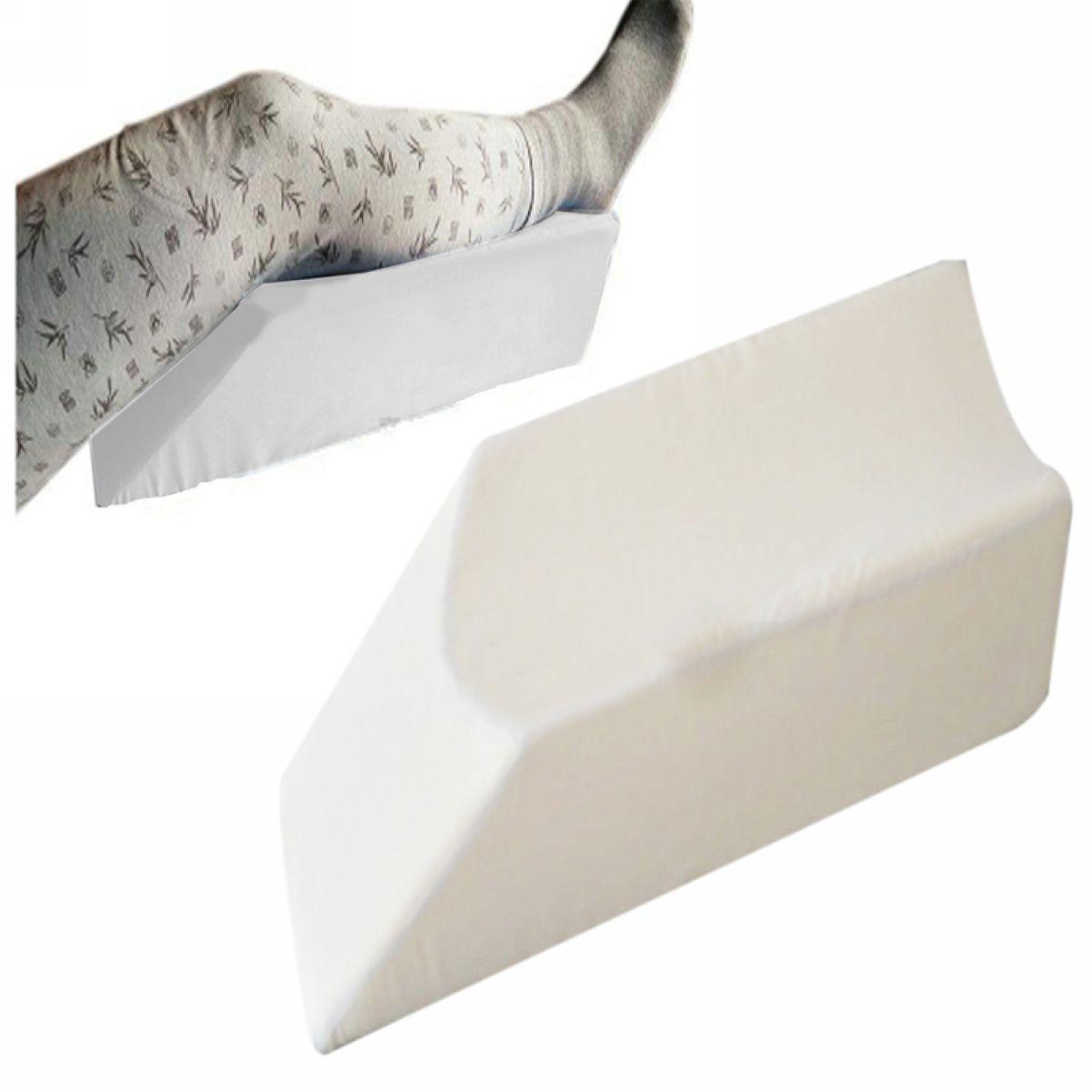 new elevating knee leg rest support mayitr gel memory foam wedge bed
