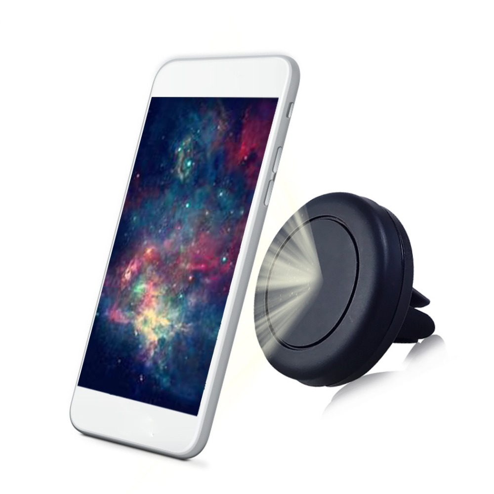 Universal Car Phone Holder Magnetic Mini Air Vent Mount Car Holder for Phone in Car Phone Holder Stand For iPhone Samsung GPS цена
