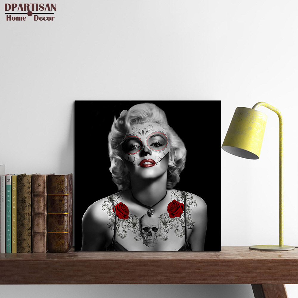 DPARTISAN Marilyn Monroe Quotes canvas Poster wall ...
