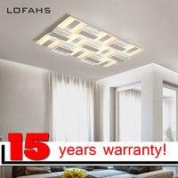 LOFAHS Modern LED Ceiling Chandelier For Living Bed Room Senior Business Premises Renovation Luxury Chandelier Lighting