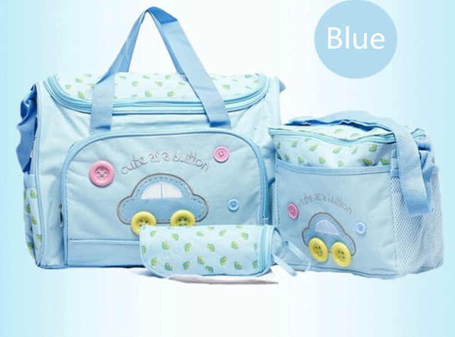 Discount! 3pcs maternidade baby diaper bags baby nappy bag mummy maternity bag lady handbag messenger bag