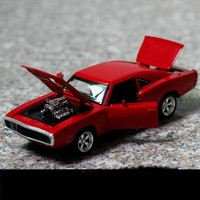 For Dodge Warrior Muscle Car Model for Fast and Farious1:32 Hot Car Model Alloy Toy Simulation Super Race Diecast Auto Speelgoed