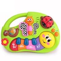 Insetos dos desenhos animados Crianças Brinquedo Da Música com Luzes, Canções da música, aprendizagem Histórias e Mais, Toy Instrumento Musical Para Todders