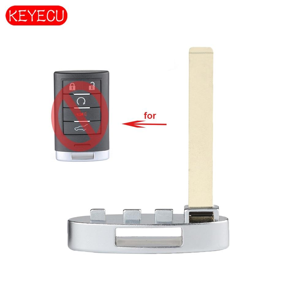 Keyecu Smart Prox Emergency Remote Key Insert For Cadillac
