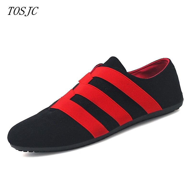 Homme chaussures décontractées bas haut à la mode vulcaniser chaussures mocassins poids léger adolescent Social chaussures sapato social masculino adolescent