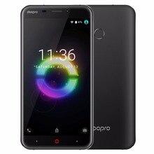 Doopro P2 Pro 4G Mobile Téléphone 5.5 Pouce HD MSM8909 Quad Core 1.1 GHz Android 6.0 2 GB RAM 16 GB ROM 5200 mAh D'empreintes Digitales Smartphone