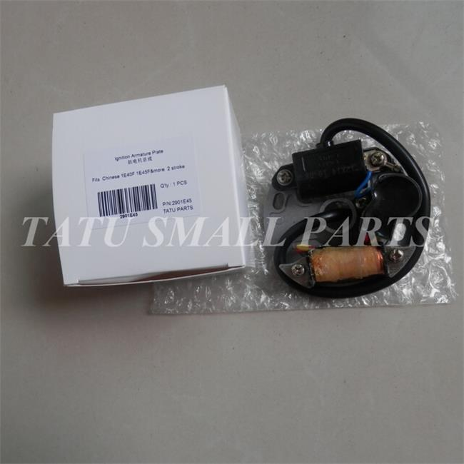 1E40F 1E45F IGNITION ARMATURE PLATE CHAIN SAW CHARGING STATOR ELECTRIC CDI MODULE CHARGE COIL MAGNETO MIST BLOWER SPRAYER PARTS ignition coil fits robin ec08 4 stroke pump trimmer chainsaw stator magneto module parts