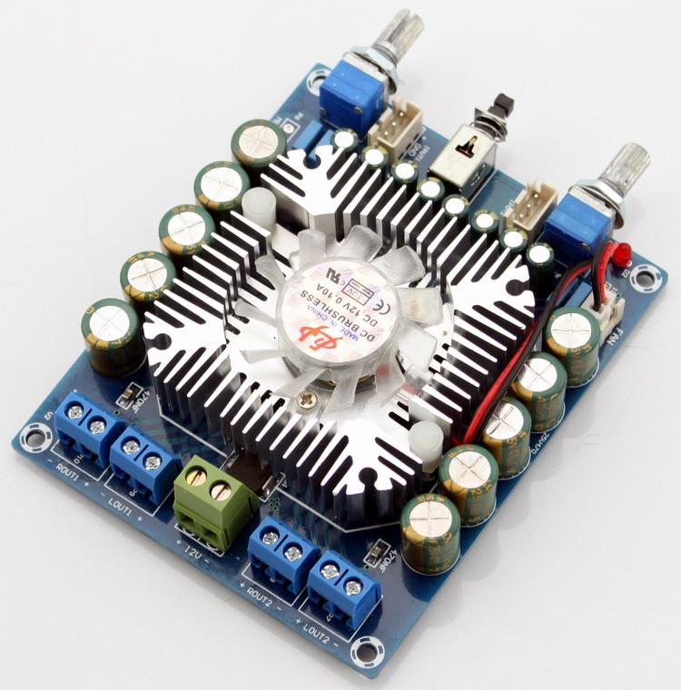 Assembled HIFI AMP board TDA7850 car amplifier board 50W*4