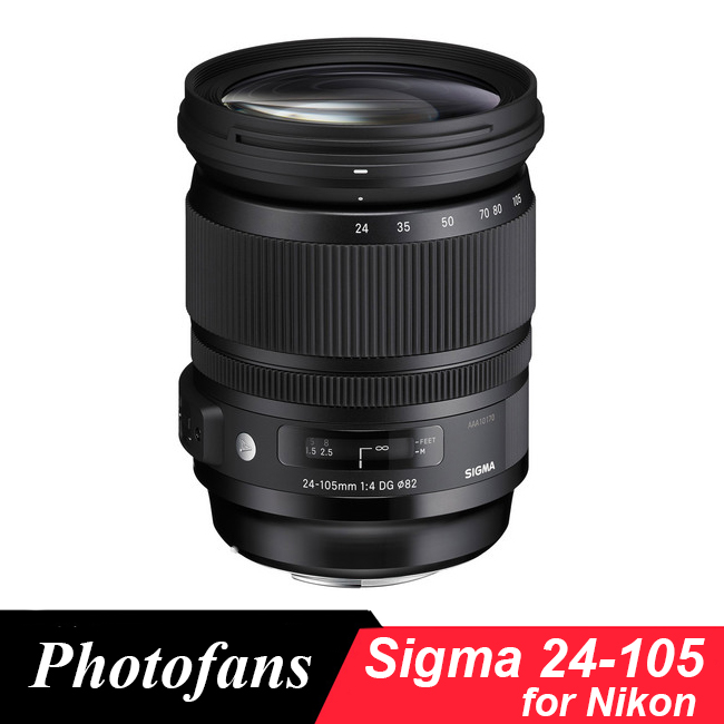 Sigma 24-105mm f/4 DG OS HSM arte lente para Nikon