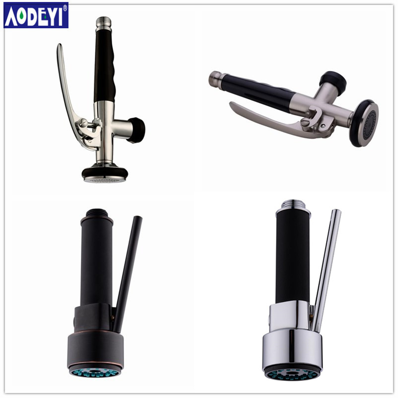 AODEYI Brass Kitchen Sprayer Spout Faucet Sink Pull Down Nozzle Spray Spout Shower Replacement Head Kitchen Tap Accessories