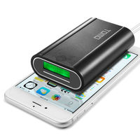 18650 Battery Smart Charger Dual USB Power Bank With LCD Screen For IPhone Android Phone Electronic
