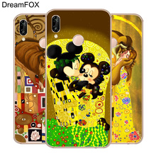 DREAMFOX M152 The Kiss By Gustav Klimt Soft TPU Silicone Case Cover For Huawei Honor 6A 6C 6X 7A 7C 7S 7X 8 Lite Pro