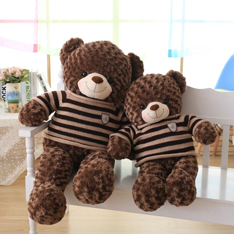 60cm 80cm  high quality teddy bear plush toy huge kids toy big bear doll baby appease doll gift  for children and friends пылесосы sinbo пылесос sinbo svc 3477zr 1500вт красный черный
