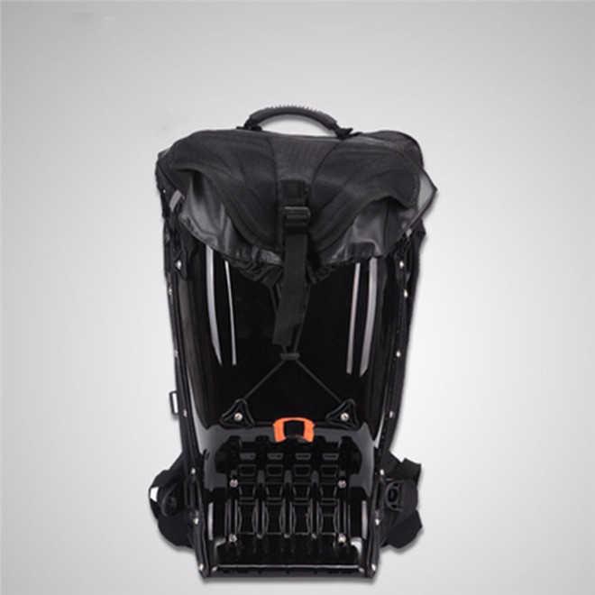 25L Moto rcycle для верховой езды чемодан с твердым корпусом Рюкзак плеча водостойкий rcycle Croos/Moto Racing защитный падение ABS сумка без ручки