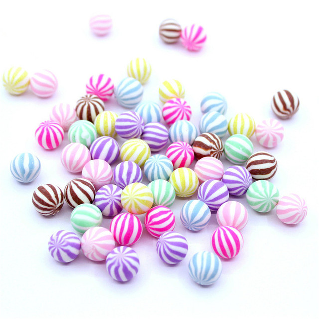 Colorful Mini Polymer Clay Candy Toys for Kids Slime Clay Charms DIY Handmade Craft Decoration
