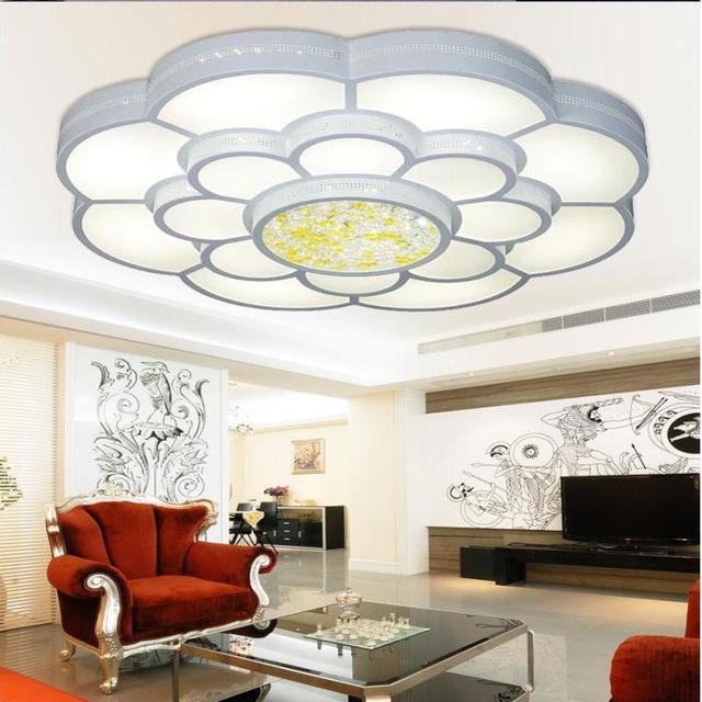 Lampadari moderni color change led chandelier contemporary ...