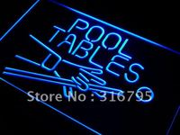 I009 Pool Tables Room LED Neon Light Sign On Off Switch 20 Colors 5 Sizes