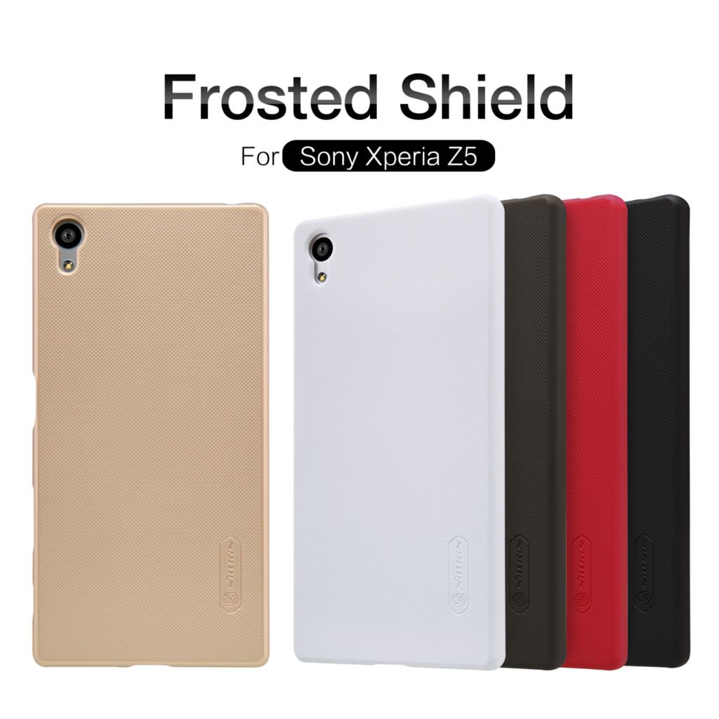 Nillkin For Sony Xperia Z5 Hight Quality Hard Cover Back Case Frosted Shield For Sony Xperia