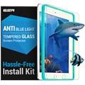 Protetor de tela para ipad mini 1/2/3, esr anti blue-ray força triplo temperado vidro protetor de tela com o aplicador