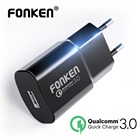 FONKEN 18W USB Charger Quick Charge 3.0 Fast Charger QC3.0 QC2.0 Portable Wall USB Adapter Charging for Mobile Phone Chargers