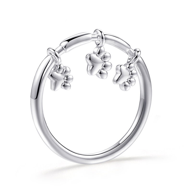 Модное Сверкающее циркониевое серебряное кольцо для женщин, цветочное сердце, корона, кольца на палец, фирменное кольцо, ювелирное изделие, Прямая поставка - Цвет основного камня: 42