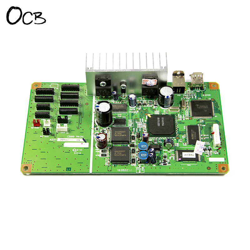 Original C589MAIN Mainboard Main Board For Epson Stylus Photo R1800 R1900 R2400 Printer Formatter Board