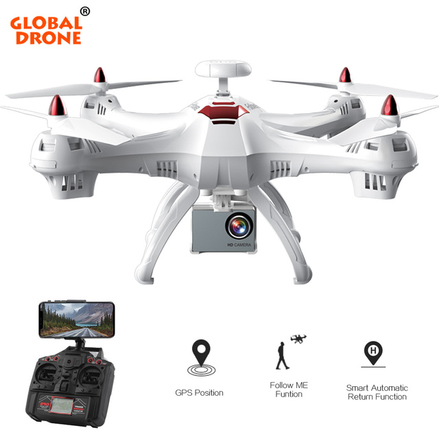 Global Drone X183 GPS Drone Follow me Drone FPV Quadcopter RC Helicopter Quadrocopter with 1080P HD Camera Drone with Camera 4K