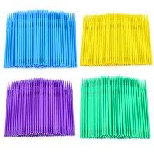 100Pcs/Lot Durable Disposable Eyelash Micro Brushes Mascara Swab Eyelash Extension Brushes Applicator Wands Makeup Tools Kit