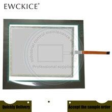 새로운 6av6644 0ac01 2ax1 MP377 19 6av6 644 0ac01 2ax1 hmi plc 터치 스크린 및 전면 레이블 터치 패널 및 frontlabel
