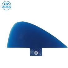 Surf Fin free shipping Blue/Red/black Center Kneel Fibreglass Fins Quilhas FCS/FUT VS Knubster Keel Set X Small