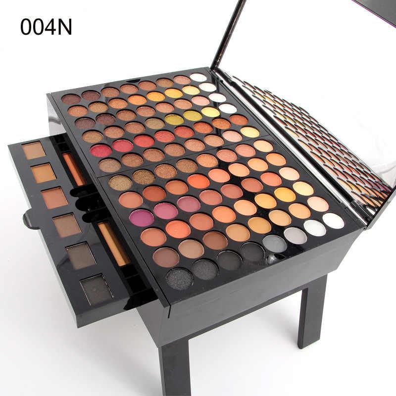 Fabriek prijs Make-Up Set Oogschaduw Glitter Palet Naakt Matte Blush Foundation Spiegel Make-Up Borstel Wenkbrauw Poeder Eyeliner