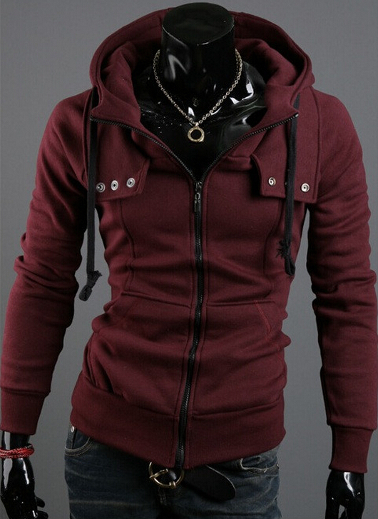 Collection Mens Maroon Hoodie Pictures - Reikian
