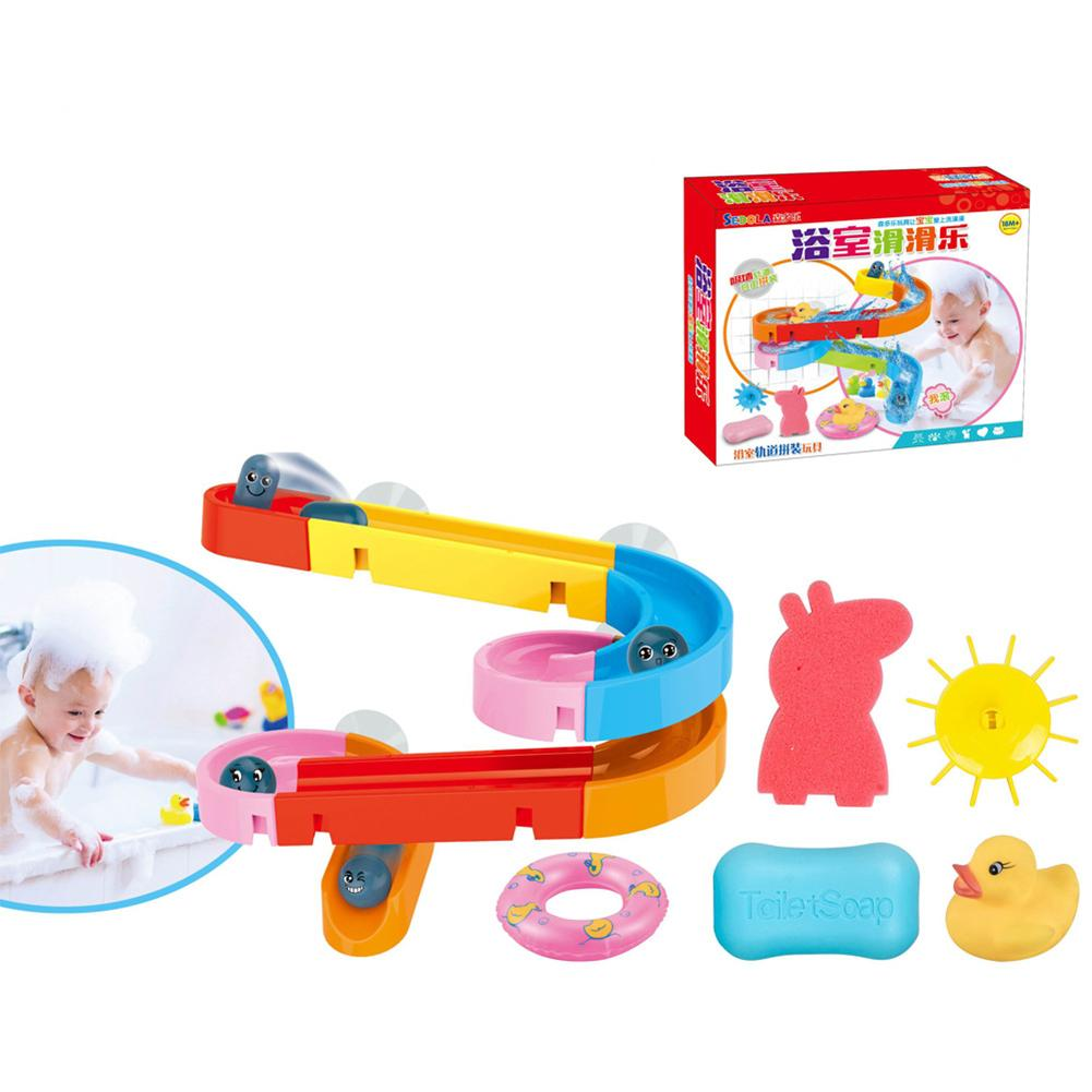 Creative Baby Bath Toys Balloon Powered Waterwheel Boat Bath Toy Water Toys  MA