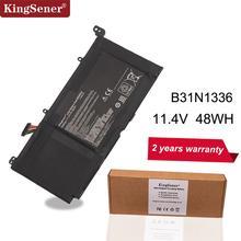 KingSener Batería de C31 S551Laptop B31N1336 para ASUS VivoBook, S551, S551LB, S551LA, R553L, R553LN, R553LF, K551LN, V551, V551LA