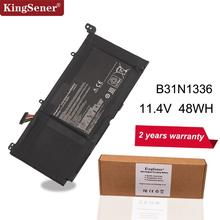 KingSener New B31N1336 C31 S551Laptop Battery for ASUS VivoBook S551 S551LB S551LA R553L R553LN R553LF K551LN V551 V551LA