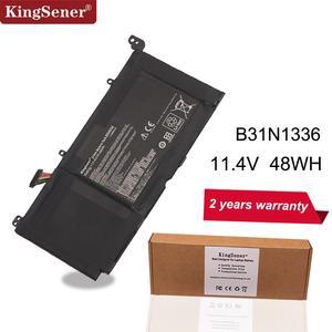 Image 1 - KingSener New B31N1336 C31 S551Laptop Battery for ASUS VivoBook S551 S551LB S551LA R553L R553LN R553LF K551LN V551 V551LA