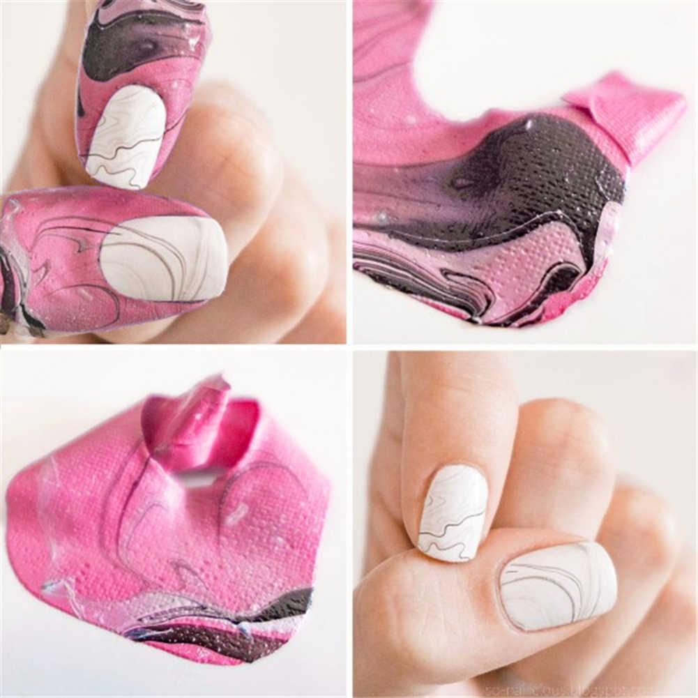 10 pçs/set u-forma unha spill-prova unha polonês durável ferramenta de manicure dedo capa verniz protetor adesivos titular ferramenta