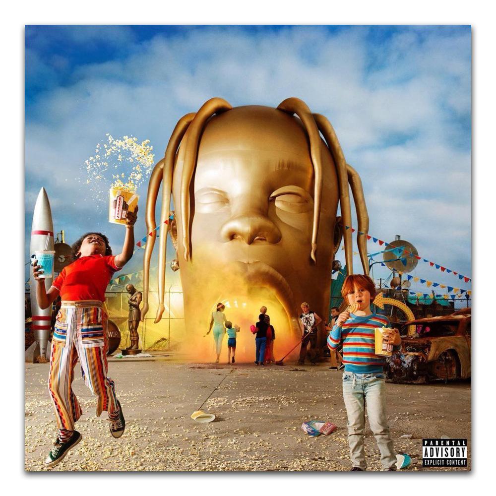 TX094 Travis Scott Astroworld 2018 Rap Hip Hop Music Album